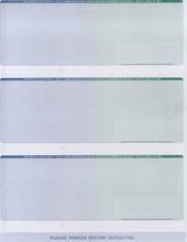 Multi-Color 3-Check Paper (CHKS616)