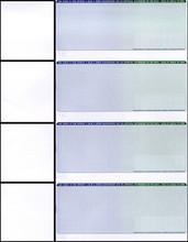 Multi-Color Personal Check Paper  (CHKS641-BG)
