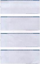 Multi-Color 4-Check Paper (CHKS644-B)