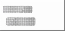Double Window Envelope - Large