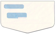 Double Window Envelope - Inverted Flap