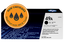 New HP 49A MICR Toner Cartridge (Q5949A)