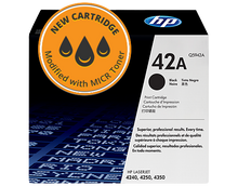 New HP 42A MICR Toner Cartridge (Q5942A)