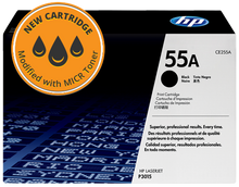 New HP 55A MICR Toner Cartridge (CE255A)