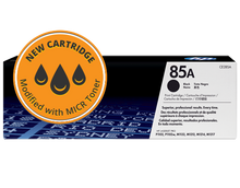 New HP 85A MICR Toner Cartridge (CE285A)