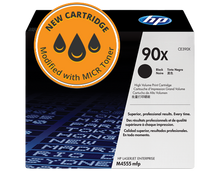 New HP 90X High Yield MICR Toner Cartridge (CE390X)
