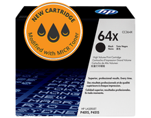 New HP 64X High Yield MICR Toner Cartridge (CC364X)