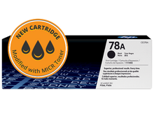 New HP 78A MICR Toner Cartridge (CE278A)