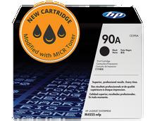 New HP 90A MICR Toner Cartridge (CE390A)