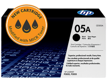 New HP 05A MICR Toner Cartridge (CE505A)