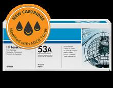 HP 53A MICR Toner Cartridge (Q7553A) CPS Brand