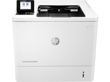 New HP LaserJet M607N Laser Printer w/ New HP MICR Toner