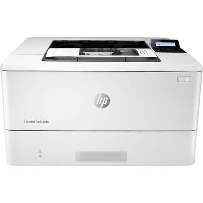 HP LaserJet M404N MICR Laser Printer - Front View