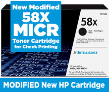 HP CF258X MICR (Magnetic) Toner Cartridge for Check Printing