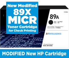 New CF289X MICR (Magnetic) Toner for Check Printing.