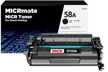 MICRmate CF258A New MICR Toner Cartridge for Check Printing
