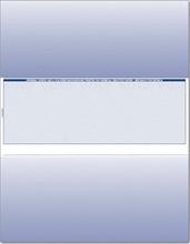 Single-Color Middle Check Paper  (CHKS504-BL)