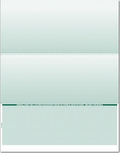Single-Color Bottom Check Paper (CHKS506)