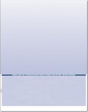 Single-Color Bottom Check Paper (CHKS508-BL)