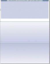 Single-Color Top Check Paper (CHKS511-BL)