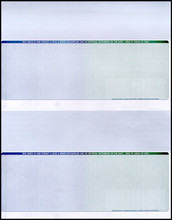 Multi-Color Voucher Check Paper (CP602)
