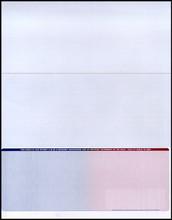Multi-Color Bottom Check Paper (CHKS605)