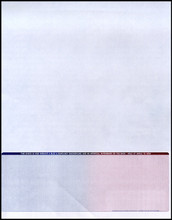 Multi-Color Bottom Check Paper (CHKS607)