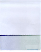 Multi-Color Bottom Check Paper (CHKS608-BG)