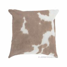 Palomino & White Cowhide Pillow