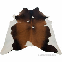 Reddish Brown Cowhide Rug