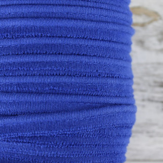 Cotton Knit Piping:  Royal Blue