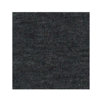 ORGANIC!  Heathered Grey:  Brushed French Terry, GOTS