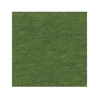 ORGANIC!  Heathered Green:  Brushed French Terry, GOTS