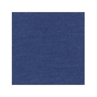 ORGANIC!  Heathered Blue:  Ribbing, GOTS