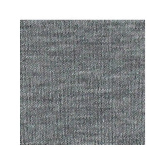 ORGANIC!  Heathered Light Grey:  French Terry, GOTS