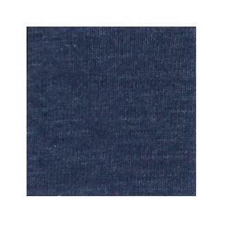 ORGANIC!  Heathered Indigo:  French Terry, GOTS