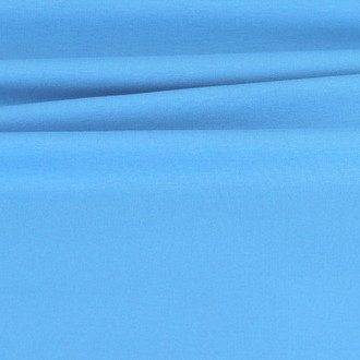 Maike:  Solid French Terry, Sky Blue