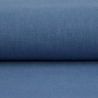 Linen 230g Enzyme Washed:  Denim Blue