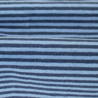 2 mm Yarn Dyed Stripes:  Royal Blue
