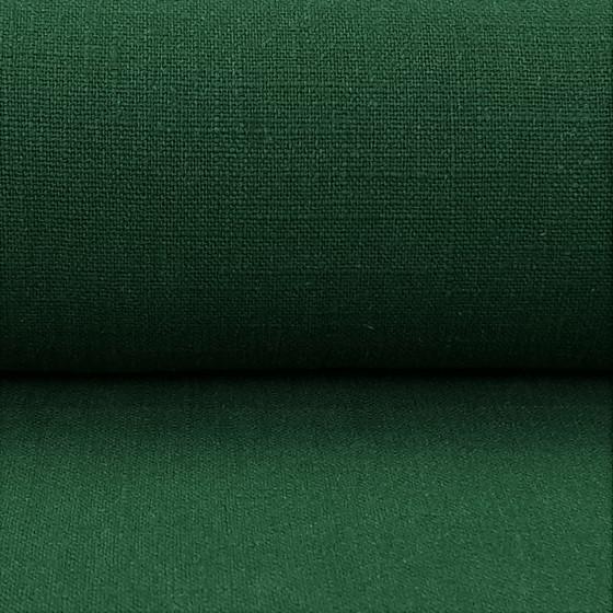 Linen 230g Enzyme Washed:  Leaf Green