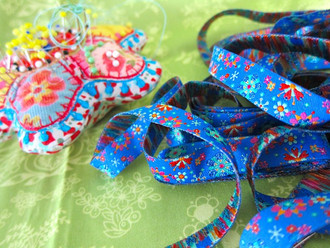 Mandala Blue: Farbenmix ribbon