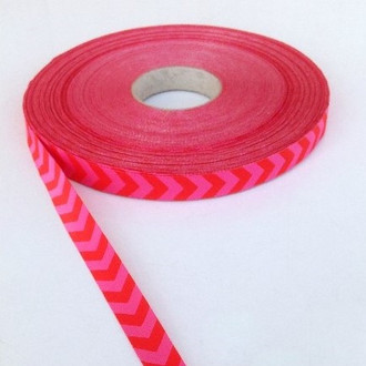 Chevron, Red & Pink:  Farbenmix Ribbon