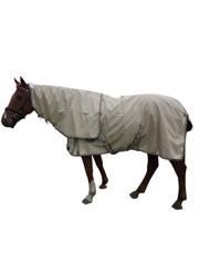 Waterproof Detachable Neck No Fill Beige Horse Rug