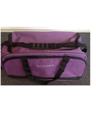 Horse Gear Bag / Sports Gear Bag / Overnight Bag - Purple