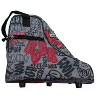 Graffiti Jodphur Boot Bag / Snow Boots Bag / Skates Bag