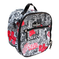 Graffiti Riding Helmet Bag / Toiletry Bag / Accessory Bag