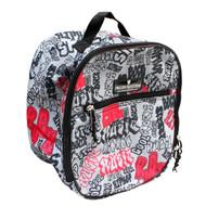Graffiti Riding Helmet Bag / Toiletry Bag / Accessory Bag