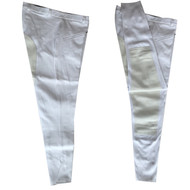 Full Seat White Men's Riding Breeches