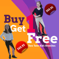 Kids Two Tone Breeches Buy 1 Get 1 Free