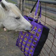 Slow Feeder Web Hay Bag